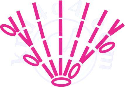 Конфеты связанные крючком леденец схема хвостика.