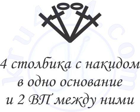 Обозначение рагульки из 2-х ССН.