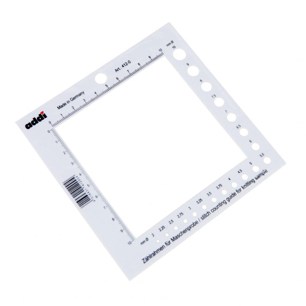 Инструменты для вязания крючком - счетная рамка для петель.