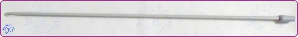 Тунисское вязание использует длинный тунисский крючок.