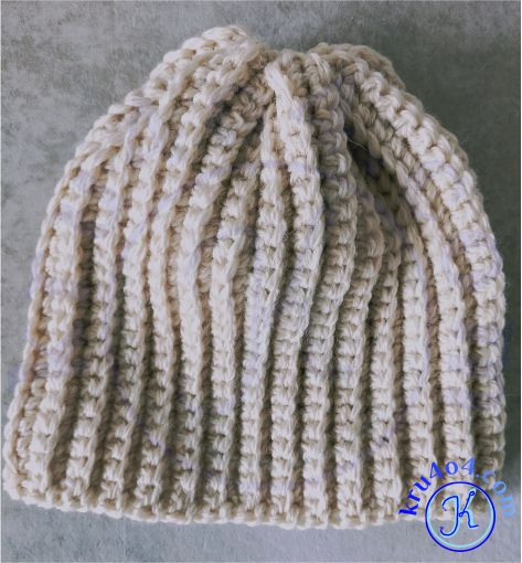 Самая простая шапка крючком.